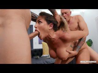 Kissa Sins - Cumming On The Cleaning Lady 1080 [Sex Milf POV Big Tits Ass Porn Gonzo Hardcore anal порно