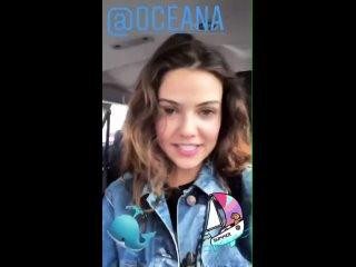 Danielle Campbell  Instagram story 21/04/2021 oceana