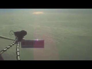 Солнце как объект внутри купола визуально уменьшается при отдалении