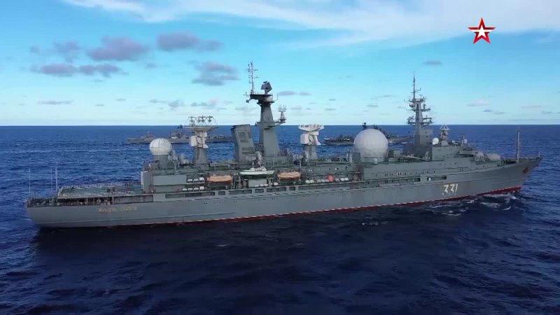 Разнородные силы ТОФ показали слаженную работу на учениях в центральной части Тихого океана