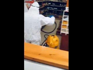 #Обработка_продуктов в #супермаркетах  А потом растет смертность от #коронавирус а.mp4