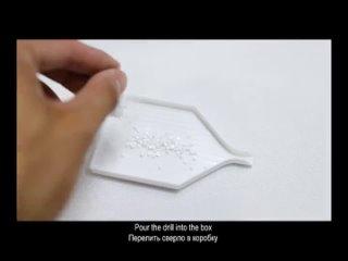 Алмазная картина Рождественская Алмазная вышивка 5d Diy