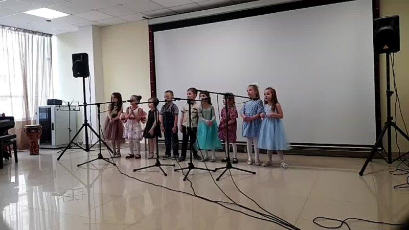 Весенний концерт учащихся школы Полиритм