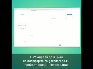 видео-инструкция по онлайн голосованию