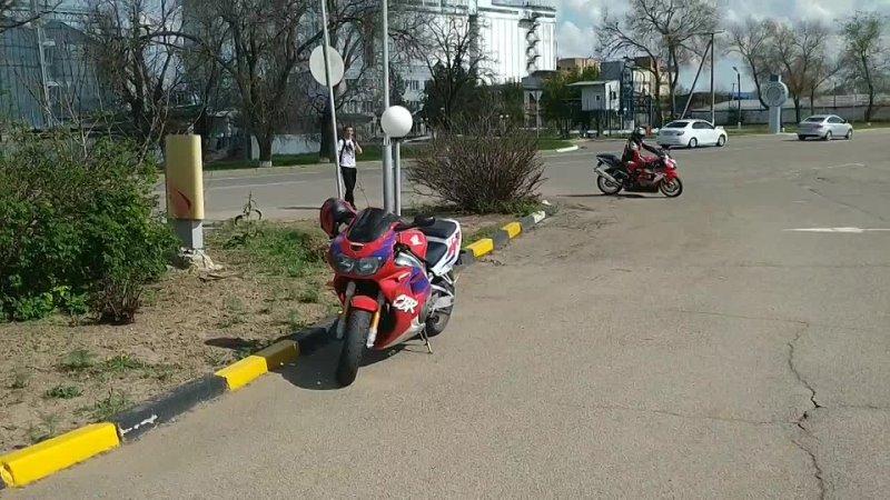 сбор колонны для поездки на открытие мотобольного сезона в г Ипатово 2 05 2021