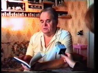 Будни (ТВ-8 [г. Саяногорск], 1998 г.) Резчик по дереву и поэт Виктор Николаевич Равнушкин