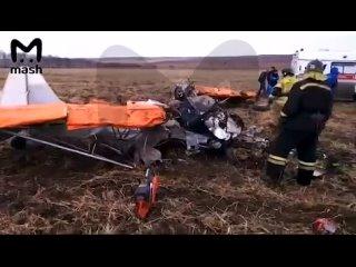 Самодельный легкомоторный самолет упал в Иркутской области