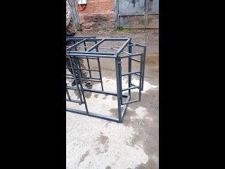 Работа раскола в системе сортировки - оборудование для овец и коз от производителя | Россия