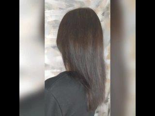наращивание волос для объёма