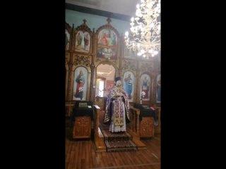 Проповедь на 5 неделе Великого поста в храме Покрова Пресвятой Богородицы, г. Павловск Воронежской области