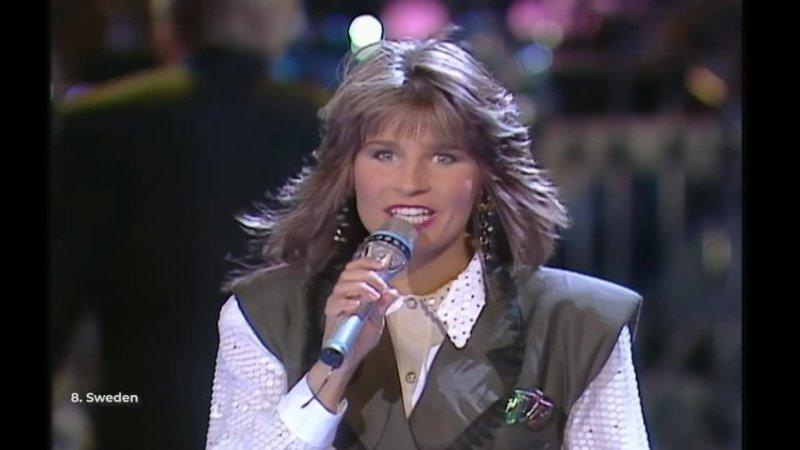 Швеция Carola Fångad Av En Stormvind Евровидение 1991 Финал