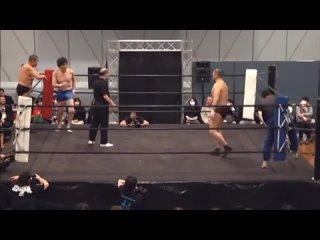 Minoru Suzuki  Yuki Nakai vs. Yoshiaki Fujiwara  Yuki Kondo (HARD HIT 2019)
