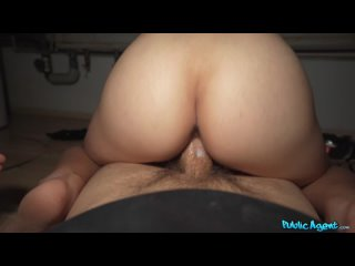 PublicAgent FakeHub Sharlotte Thorne - Tattoo Babe Fucked in Boiler Room All Sex, Blowjob, Cum In Mouth, POV