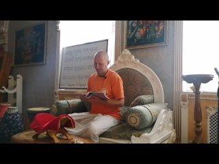 Пашупал Гоп Кумар дас лекция по Шримад Бхагаватам,  (, Омск)