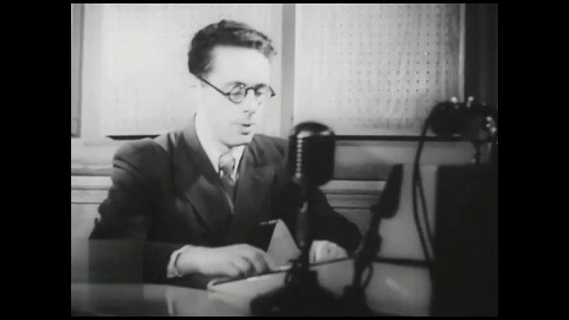 9 мая 1945 г Диктор Юрий Левитан читает Приказ ВГ об объявлении 9 Мая 1945 года Днём Победы WW2
