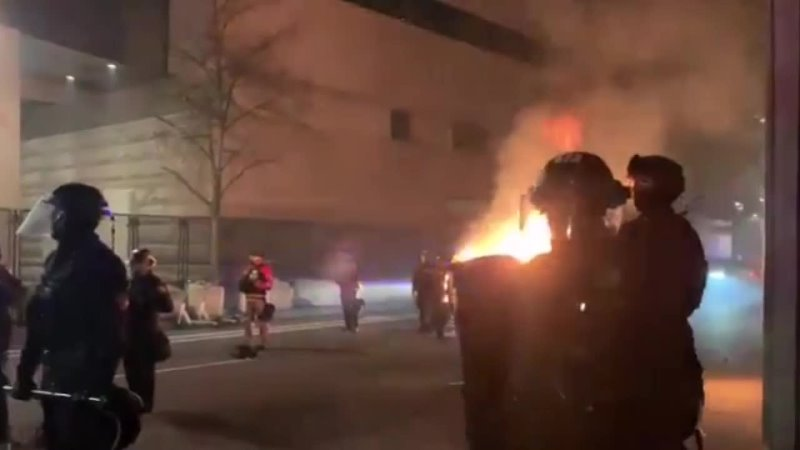 May 2021 Portland chaos and unrest erupted again