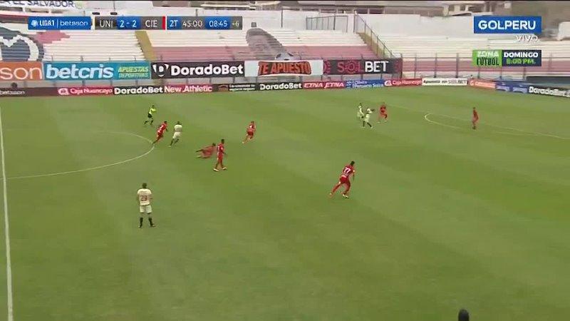 Liga1 Betsson Alberto Quintero anotó así el Universitario 3 2 Cienciano 720P HD mp4