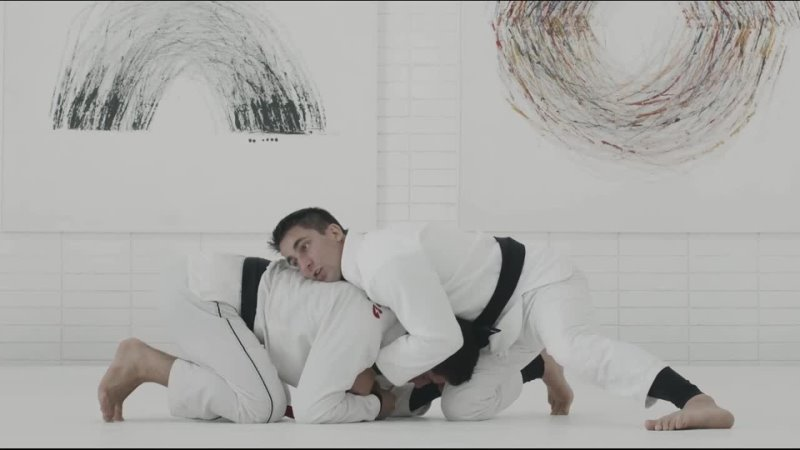 GUI MENDES COLLAR CHOKE FROM FRONT HEADLOCK POSITION