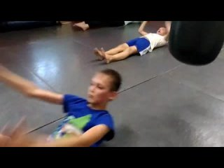 Тайский Бокс-дети / тренер Дмитрий Коркош