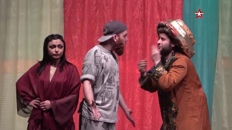 Спектакль по повести Гоголя собрал аншлаг в театре Алеппо