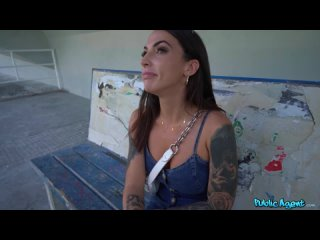 PublicAgent Medusa - Trackside Spanish Tits and Ass (720p).mp4