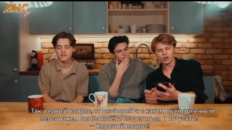 New Hope Club Fan Q and A Rus Sub