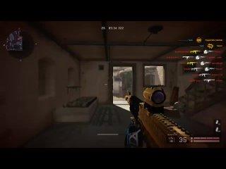 [Griffin Channel] Выстрел с 5000 МЕТРОВ! ЗОЛОТОЙ АК12 + ТЕСТ WARFACE