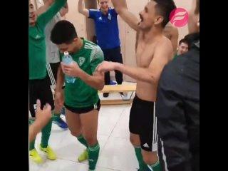МФК «Атырау» празднует выход в Лигу Чемпионов