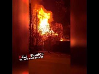 Пожар на Московской 56