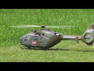 Радиомодели вертолет SWISS AIR FORCE EC635