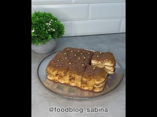 Домашний торт (ингредиенты в описании видео)