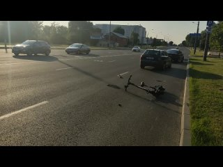 Авария на проспекте Машерова