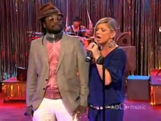 Fergie ft.   - All That I Got (The Make Up Song) - AOL Sessions 2007