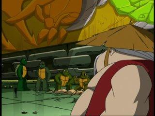 """Подростки Мутанты Ниндзя Черепашки (2003). S5E9. """"Отцы и Дети"""" [Sub-Toon Inc.]"""