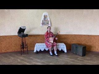 """Хорева Кристина 2 курс """"Частушки о победителях"""" слова М. Мордасовой и Г. Дорохова, музыка народная"""
