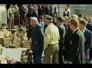 Пьяный Ельцин дирижирует оркестром в Германии