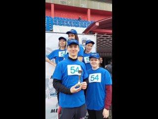 🚀Заняли 3 место в 73-й традиционной легкоатлетической эстафете среди бюджетных организаций Металлургического района🚀