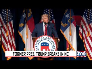 Former President Trump Speaks at the North Carolina Republican Partys State Convention