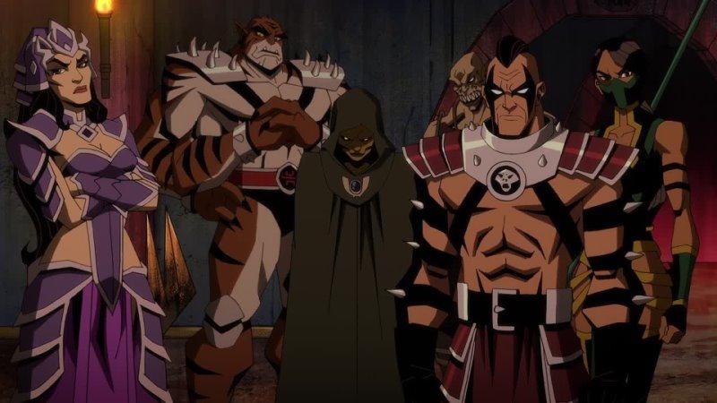 Легенды Смертельной битвы Битва королевств Mortal Kombat Legends Battle of the Realms Трейлер мультфильма