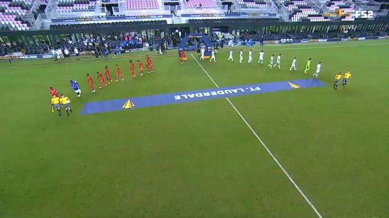 Золотой Кубок КОНКАКАФ 2021 отбор Гватемала Гваделупа