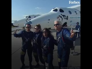 Миллиардер Ричард Брэнсон слетал к границе с космосом на своем ракетоплане