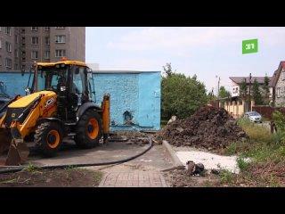 Коммунальщики раскурочили двор, на который потратили больше 5 миллионов бюджетных рублей