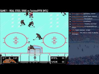 NHL94 PRESEASON 16 - Назад в финал конференции, Монреаль vs Вегас