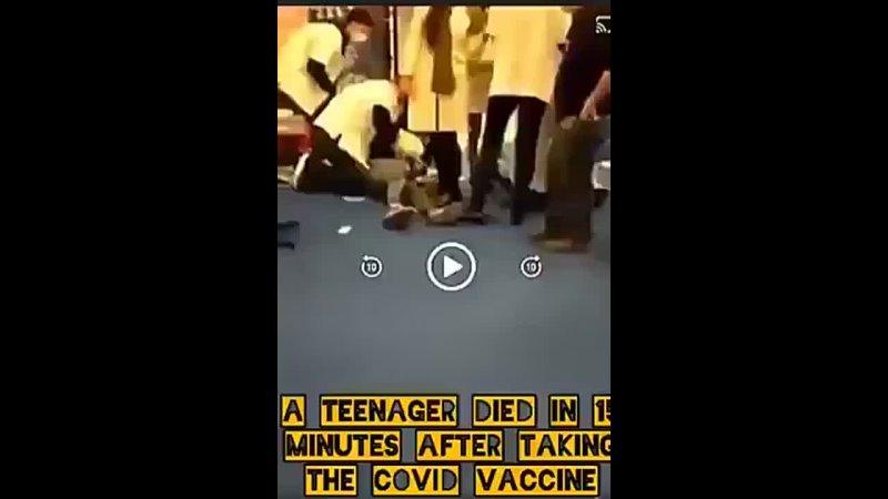 Một thiếu niên Israel tử vong tại chổ sau chỉ sau 15 phút tiêm Pfizer