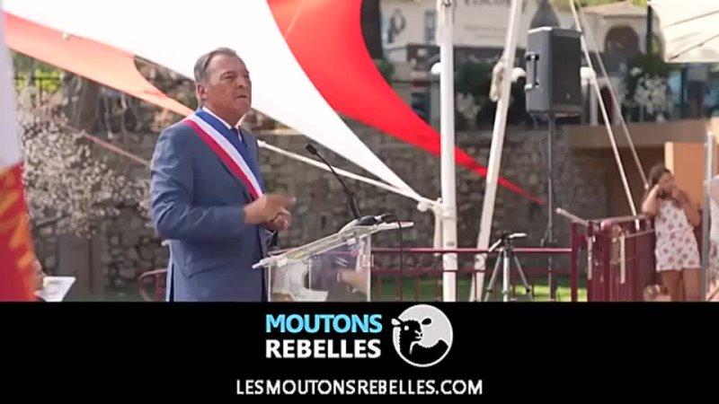 Le maire Lionnel Luca à propos du pass sanitaire Plus moutons que nous je ne connais pas 1 mp4