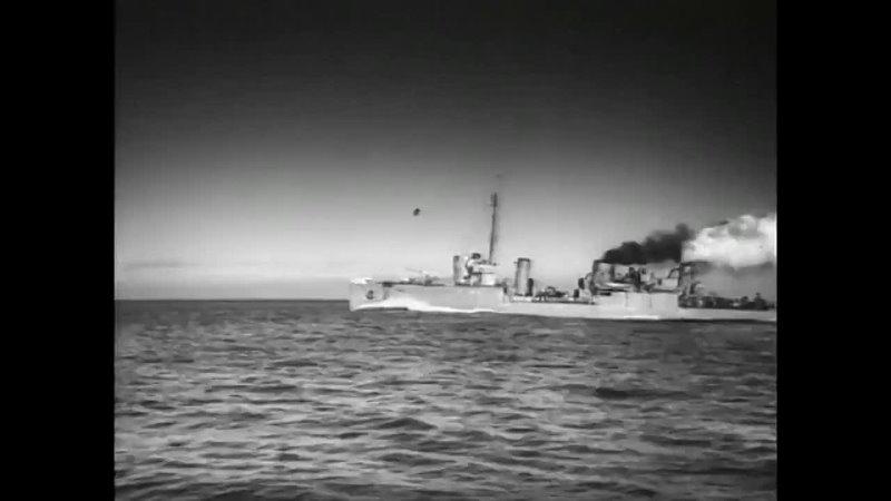 Бой эсминца Гавриил с британскими кораблями Балтийцы