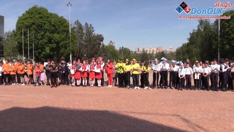 В Донецке прошел Республиканский конкурс отрядов ЮИД Донецк Инфо