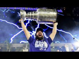 """ФОРВАРД КЛУБА NHL """" TAMPA BAY LIGHTNING """" РОССИЯНИН НИКИТА КУЧЕРОВ - ЛУЧШИЙ БОМБАРДИР РОЗЫГРЫША ПЛЕЙ - ОФФ NHL  СЕЗОНА 2020-2021"""