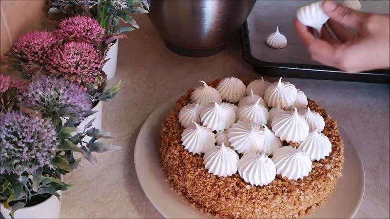 Торт ГРАФСКИЕ РАЗВАЛИНЫ. Торт со сгущенкой. Вкусный торт в домашних условия