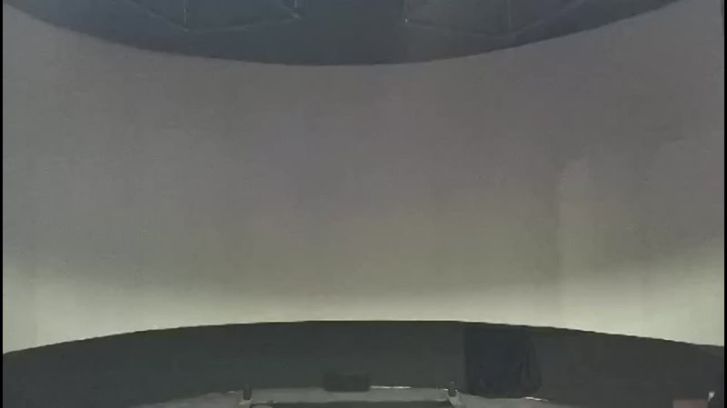 Летающий кинотеатр VR кинотеатр с полностью окружающим экраном на 180 градусов